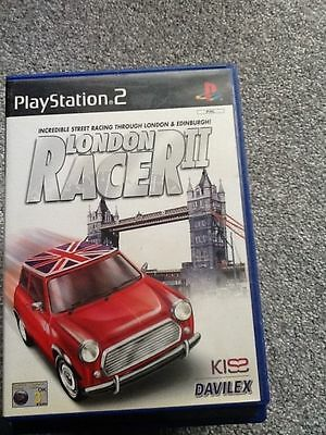 Playstation 2 Game_London Racer 11 + Manual
