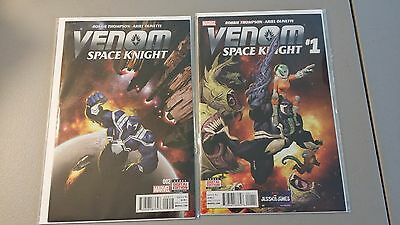 (2016) Marvel Comics Lot Of 2 Venom Space Knight #1 And #2 Nm Flat Rate Shipping