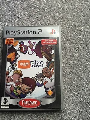 Playstation 2 Platinum Game_Eyetoy Play + Manual