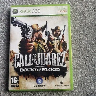 Xbox 360  Game_Call Of Juarez : Bound In Blood..no Manual