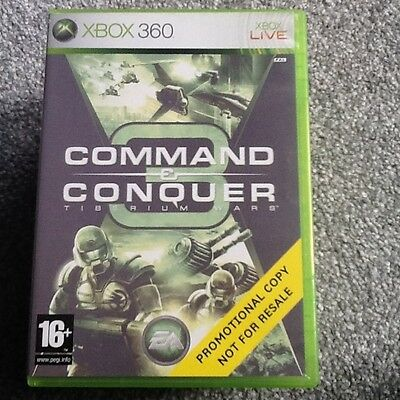 Xbox 360  Game_Command And Conquer 3 : Tiberium Wars..no Manual