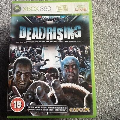 Xbox 360  Game_Dead Rising..no Manual