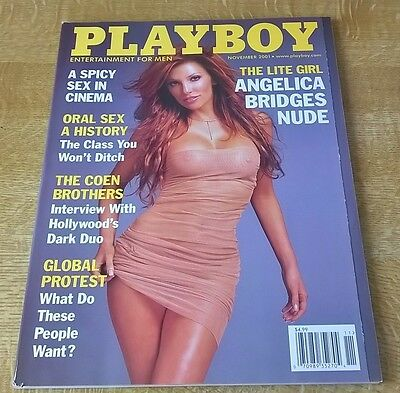Playboy November 2001 Angelica Bridges