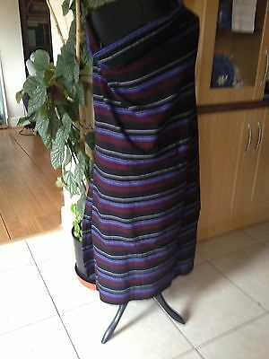 African Masai Shuka cloth Sarong - Brown