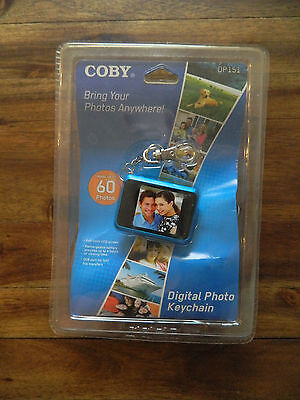"Coby DP-151 1.5"" Digital Picture Keychain"