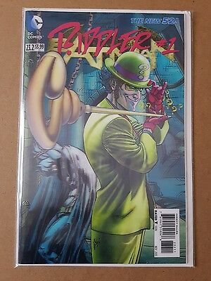 Batman #23.2 Riddler, New Bagged & Boarded,  3D Cover. 1st Print. Rare!