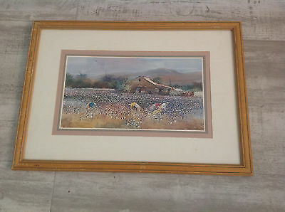 Jack Deloney limited edition art print framed signed and numbered 307 / 500 Rare