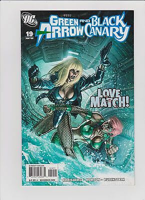 Green Arrow and Black Canary #19 Early Cupid Appearance!