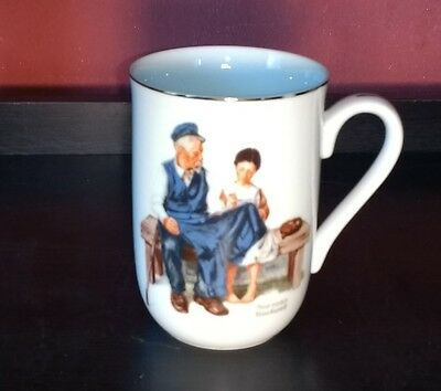 """Norman Rockwell Museum Mug """"The Lighthouse Keeper's Daughter"""" 1982"""