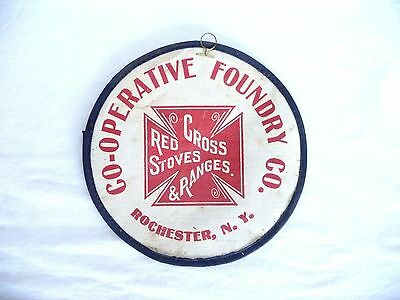 Red Cross Stoves & Ranges  CO-OP Foundry Co Patch Rochester, NY, Vintage GC