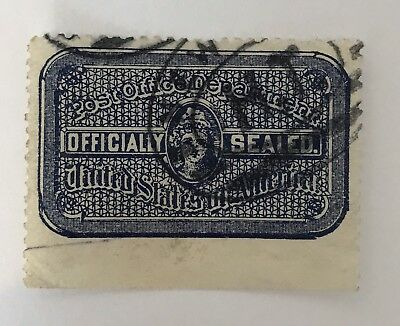 USA Official Seal Stamp Used
