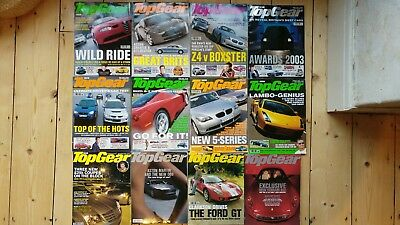 Top Gear Magazine Complete 2003 Issues