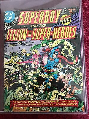 Superboy and the Legion of Super Heroes tabloid C-55 (VG-F)