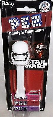 Star Wars Pez Dispenser  STORM TROOPER 2016 [Kylo Ren Backer Card]