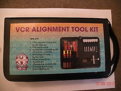 Vcr Video Alignment Tool Kit / Electronic Service Kit