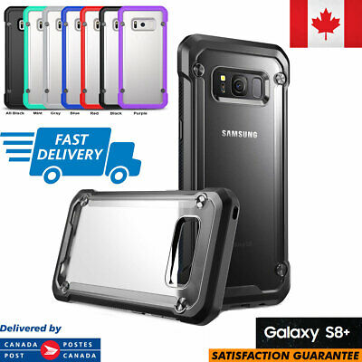 For Samsung Galaxy S8+ Plus Case Hybrid TPU ShockProof Protective Rugged Cover