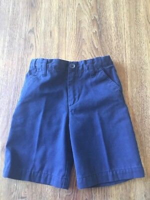 Boys Navy Blue Size 5 Cherokee Uniform Shorts