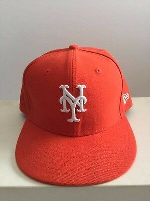 NEW YORK METS New Era 2017 MLB Youth Memorial Day 59FIFTY Cap Olive ... 0da54aec557
