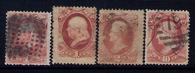 USA, Official Stamps Sc# O83X2;84;88 Used,CV:$70