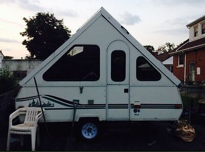 Chalet Alpine Folding Camping Trailer