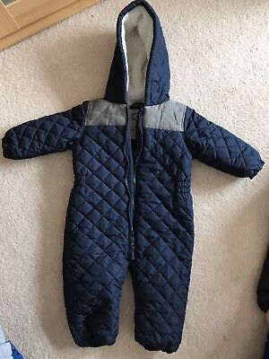 Next Baby Snow Suit 9-12 Months