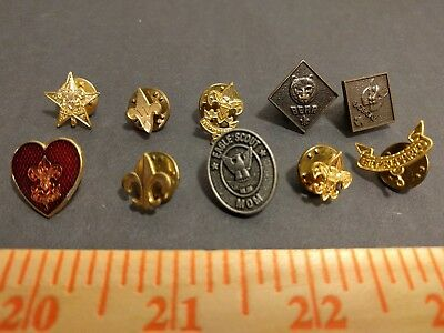 Lot of (10) vintage BOY SCOUT pins