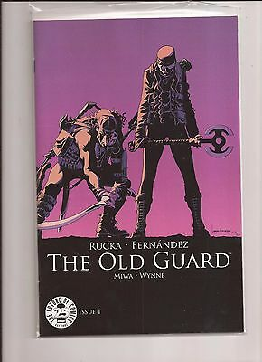 The Old Guard #1 25th Anniversary Image Blind Box Color Variant NM