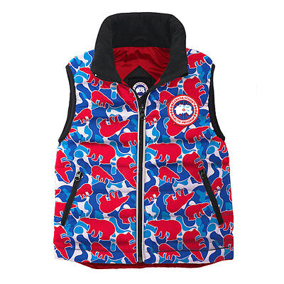 Canada Goose Kids' 6-7 Bobcat Vest - MADE IN CANADA 100% AUTHENTIC WITH TAGS
