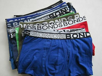 5X Mens Bonds Trunk With  Defects