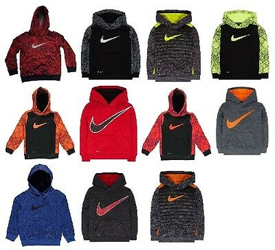 NEW - Nike Little Boys Dri-Fit Therma-Fit Hoodies - Pick Size, Color & Style
