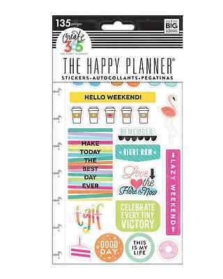 MAMBI Create365 Happy Planner Stickers TGIF, 5 sheets 135 stickers