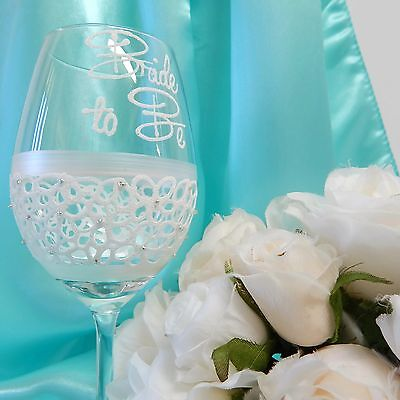 Bride to Be Wedding Planning Wine or Champagne Glass Personalised Gift For Bride