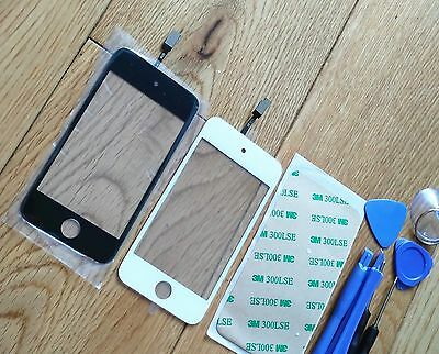 For iPod Touch 4 4th Gen Generation Digitizer Touch Screen + Adhesive + Tools