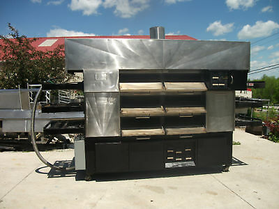 2 Deck Pizza Pride (By Randell) Pizza Oven With Hood  Model302-M