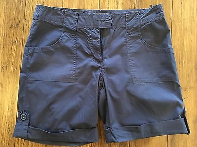 Ladies Blue Shorts Suzanne Grae size 10 great condition
