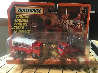 Matchbox Superfast Adventure Action Pack Rare German Circus Set Boxed