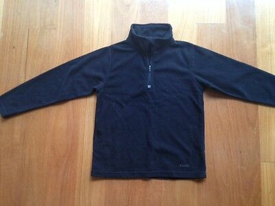 Arctic Star Kids Snow Fleece Jumper Black Size 8