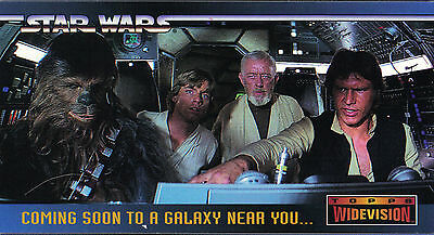 Star Wars - Promo Chase Card #SWP2 - 1994 Topps WV - NM