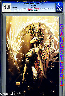 "Soulfire #1 (CGC 9.8) ""VIRGIN"" cover by Michael Turner"