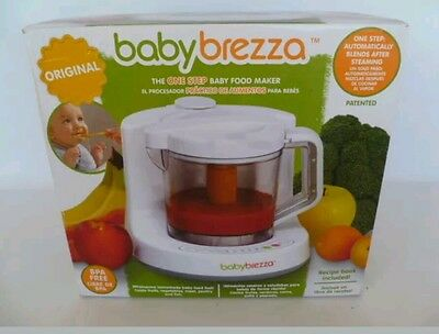 Baby Brezza The One Step Baby Food Maker/Cooks & Blends One Step New Open Box