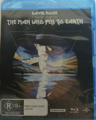 *New & Sealed* The Man Who Fell to Earth (Studio Canal Blu-ray) Region B AUS