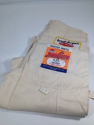 Univ Stone Cutter Painter Pants Waist 26 Inseam 34 NOS 100% Cotton 50's USA A2