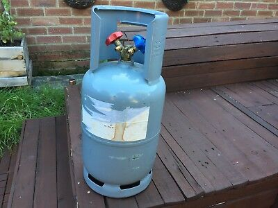 Dual Port Refrigerant Recovery Cylinder, 12.5KG - EMPTY
