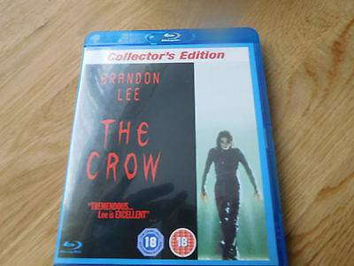 The Crow (Blu-ray, 2007) collector's edition
