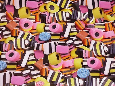 Liquorice Allsorts Giftwrap Paper X 2 Sheets & Gift Tag Design Birthday Wrapping