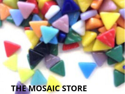 Mixed Glass Triangles for Mosaic Art & Craft - Mosaic Tile & Supplies