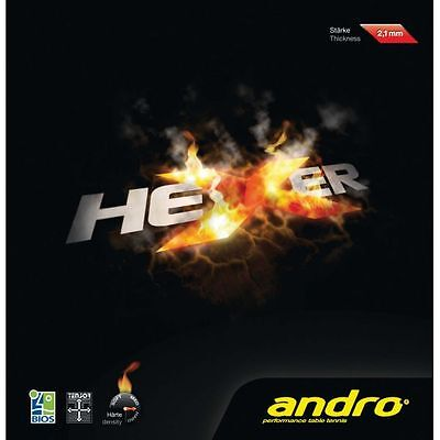 Andro HEXER Table Tennis Rubber (Clearance Sale)