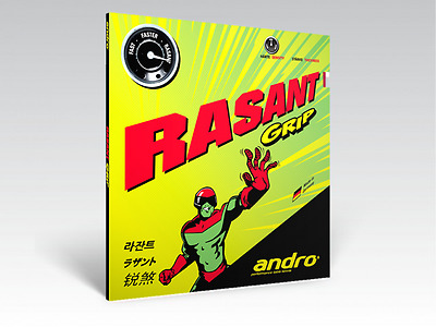 Andro Rasant Grip Table Tennis Rubber (Clearance Sale)
