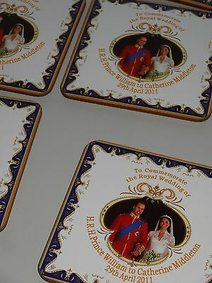 Prince William and Duchess of Cambridge Royal Wedding Coasters