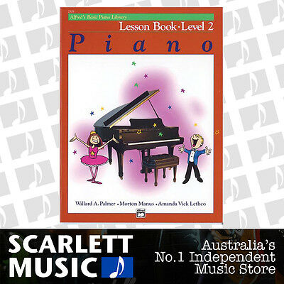 ABPL Alfred's Basic Piano Library Lesson Book Alfreds Level 2 ( Two / Second )